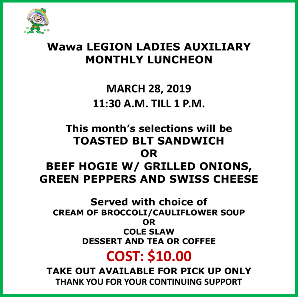 3.28.2019 monthly lunch wawa legion.png