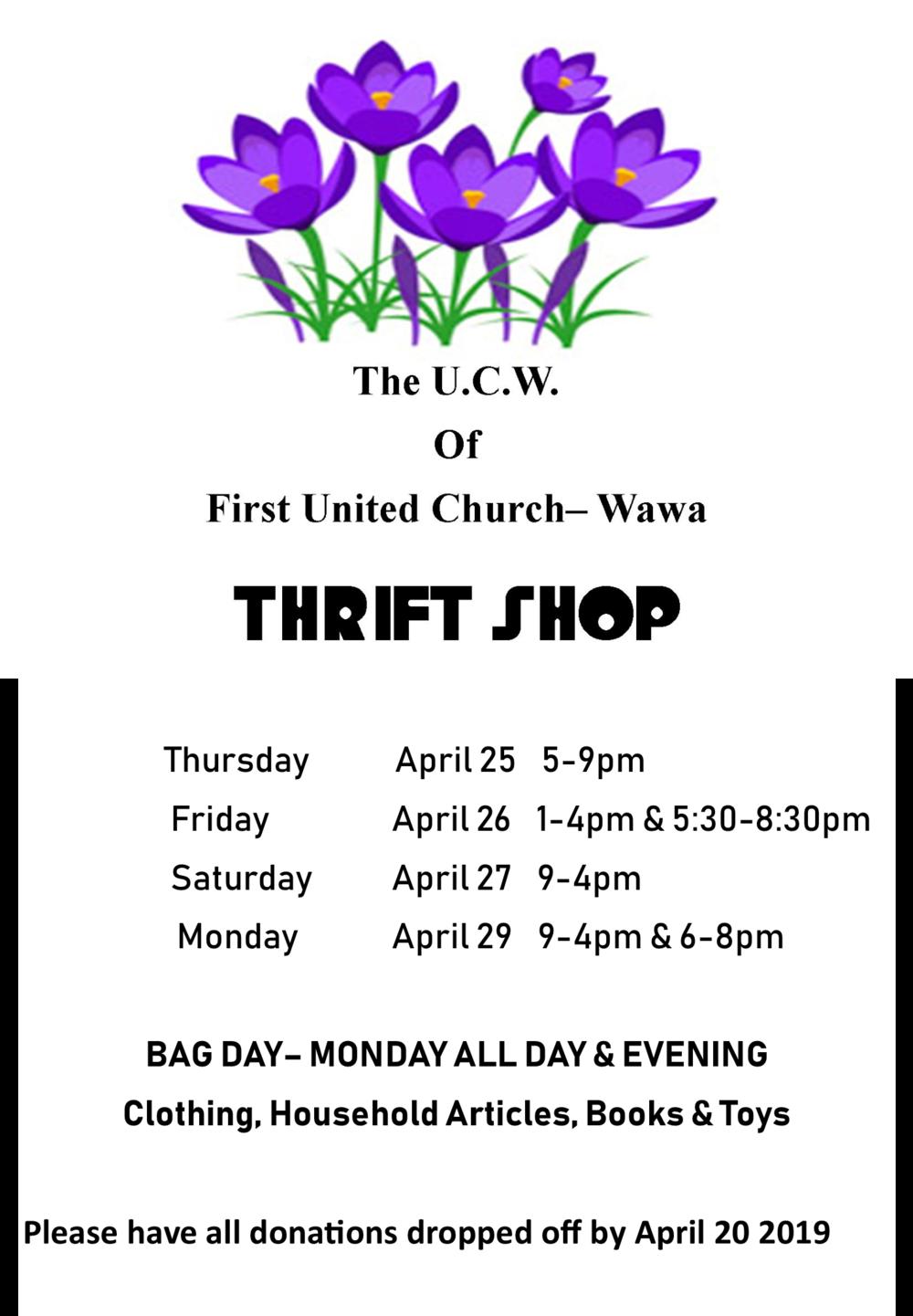 april 25-2- ucw thrift shop 2019.png