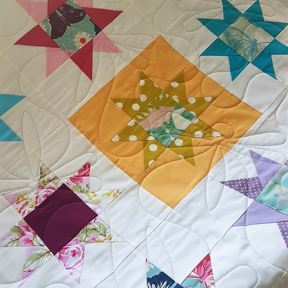 Can you believe this was made by a new quilter?!