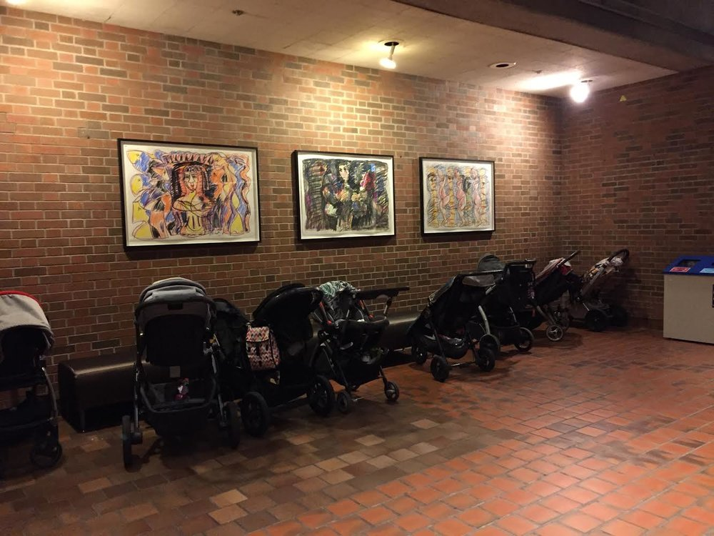 The Stroller Parking Lot at Toronto Summer Music Festival