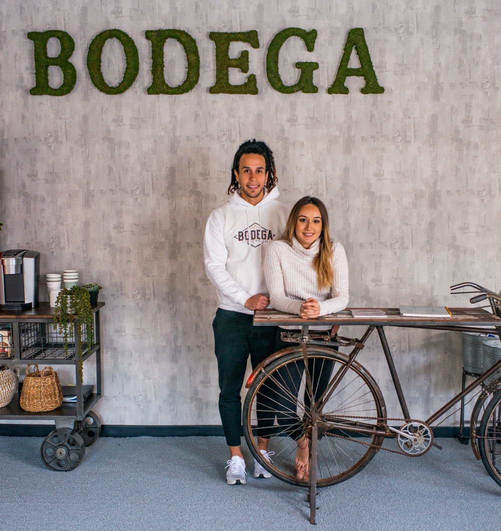 Nicole Valle and Jose Ramos, Co-owners of BODEGA Fitness Boutique