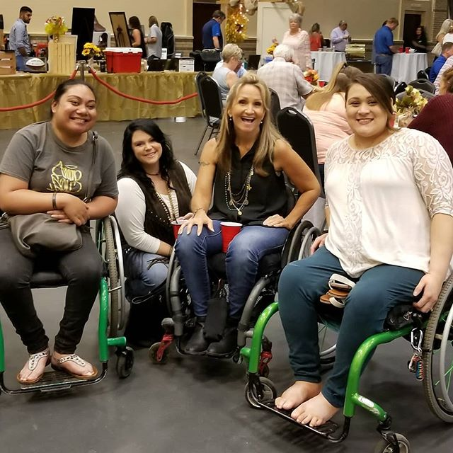 Representing at the #LongviewAmbucs #MobilityBash 9/8/18 @power_inc #longviewtx #triumphoveradversity