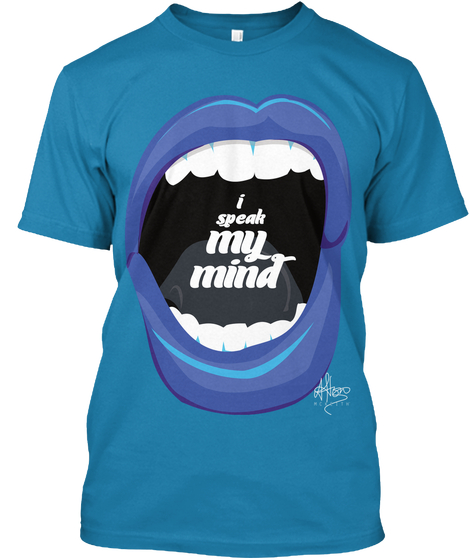 I Speak My Mind - £25.00 - 100% ORGANIC COTTON