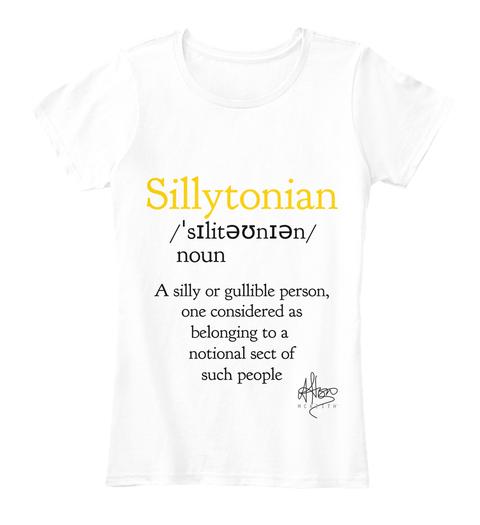 Sillytonian - £25.00 - 100% ORGANIC COTTON