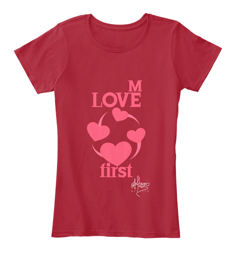 Love Me First - £25.00 - 100% ORGANIC COTTON