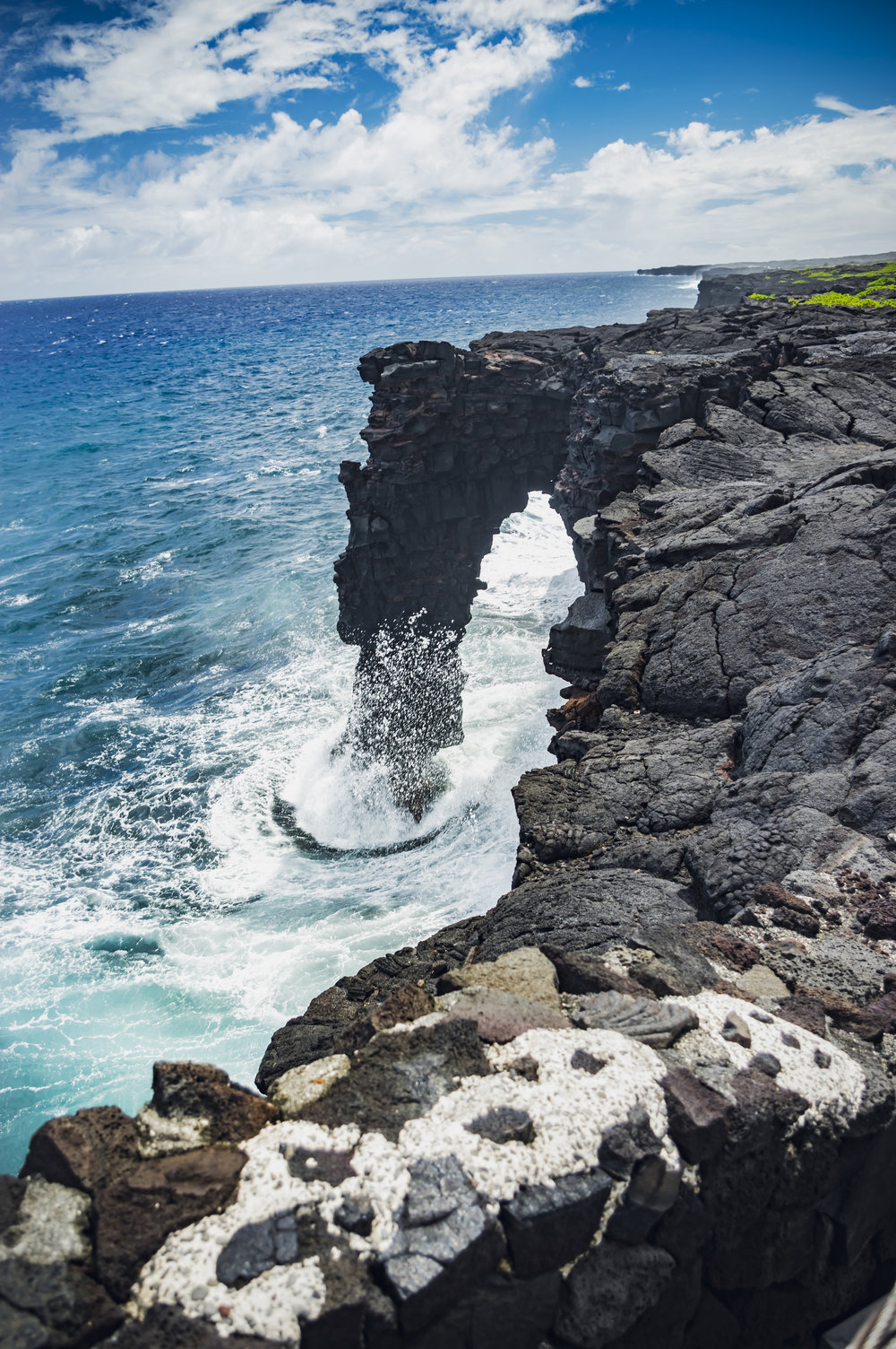 Sea Arch - Volcanoes National Park