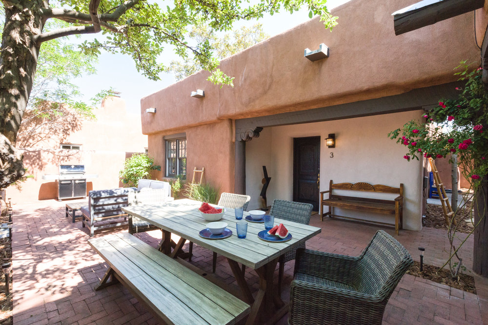 Shared Courtyard & Grill