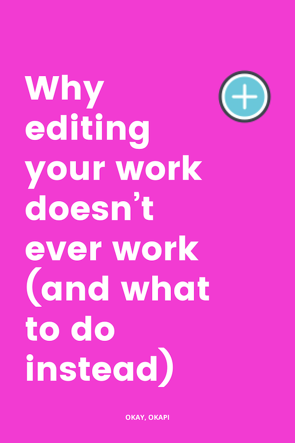 If you're having a hell of a time balancing professionalism with some lightheartedness and bringing a bit more personality into your writing, you've probably tried majorly editing your work, letting it sit for a bit, and banging out a SFD…and you probably didn't get the results you were looking for. What the actual hell?!? Check out this blog post to learn why and what to do instead.