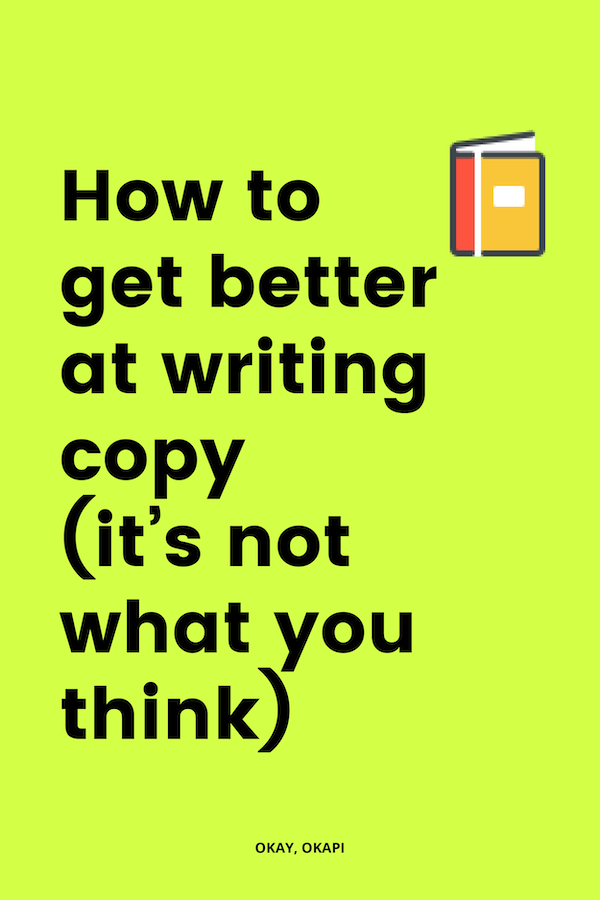 I have what might be an unpopular opinion to share: You're not just going to magically wake up one day and be a good writer. Writing is a skill they have to learn. And that takes practice. So, this post might not be the motivational rah-rah-you-can-do-anything message you might have been hoping for when you saw that oh-so-tantalizing headline, it does have practical tips you can use to get better at writing that will actually make a difference.