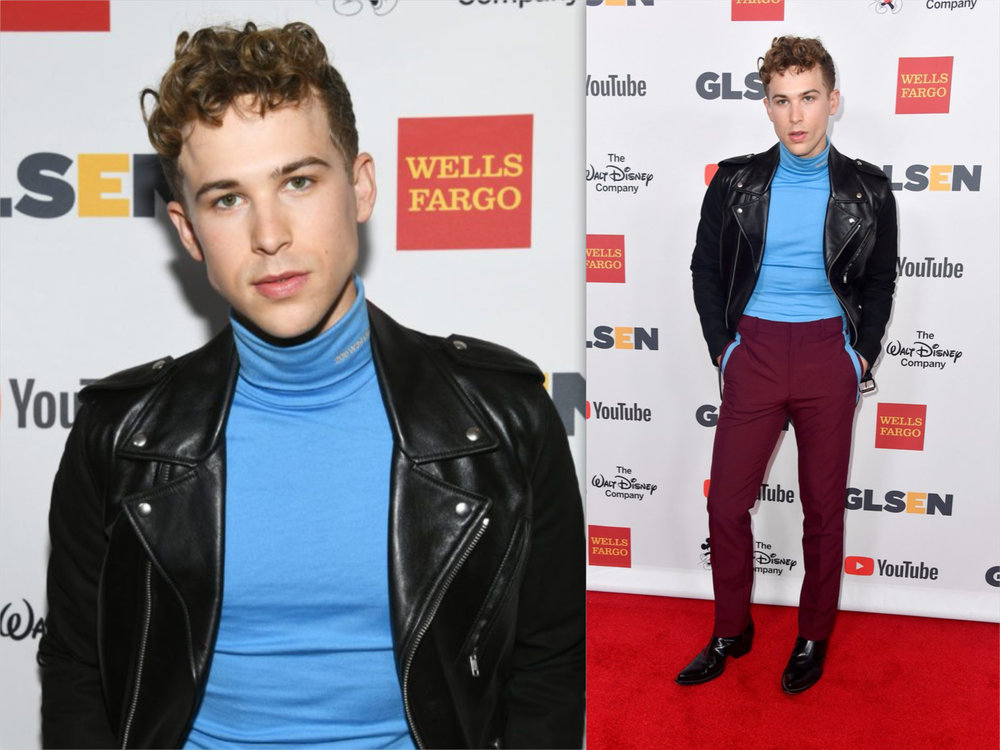 Tommy Dorfman GLSEN awards duo.jpg