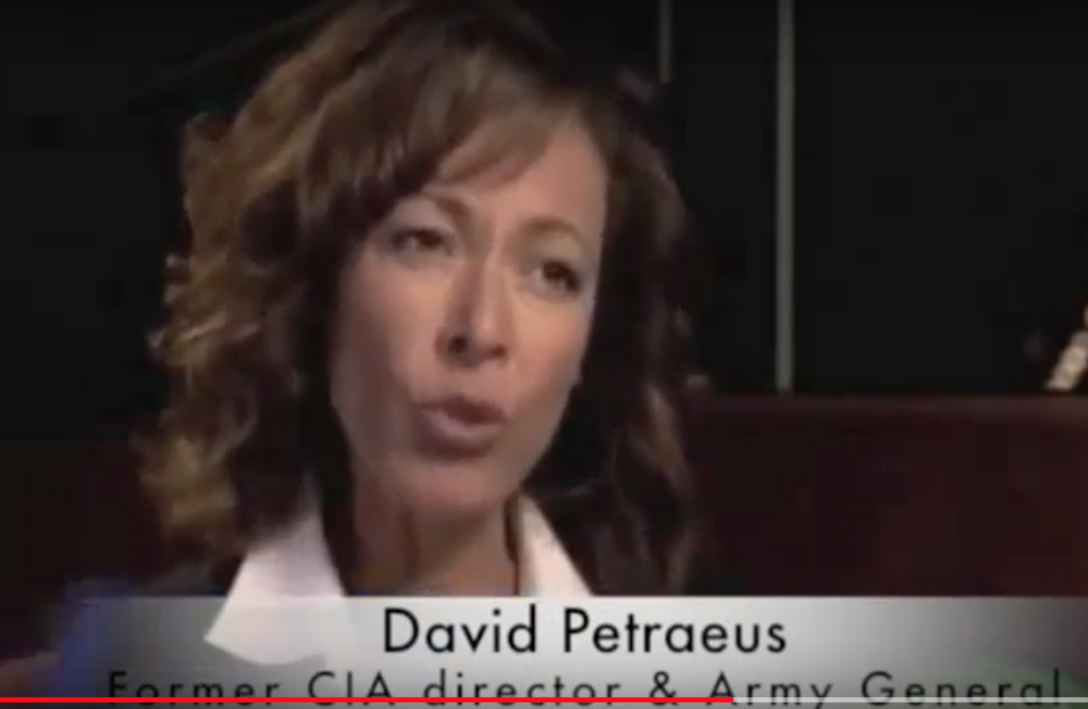 TAMARA INTERVIEWS GENERAL DAVID PETRAEUS