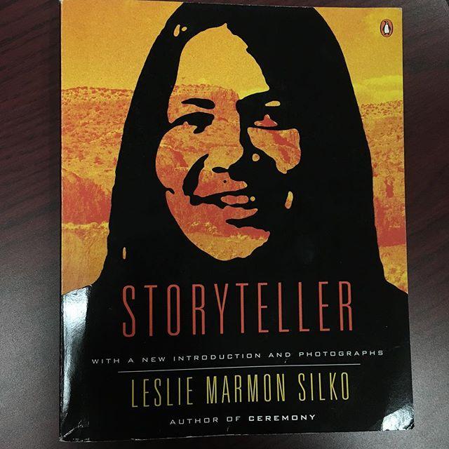 First time teaching Storyteller and students *loved* it #lesliemarmonsilko #lagunapueblo #storyteller
