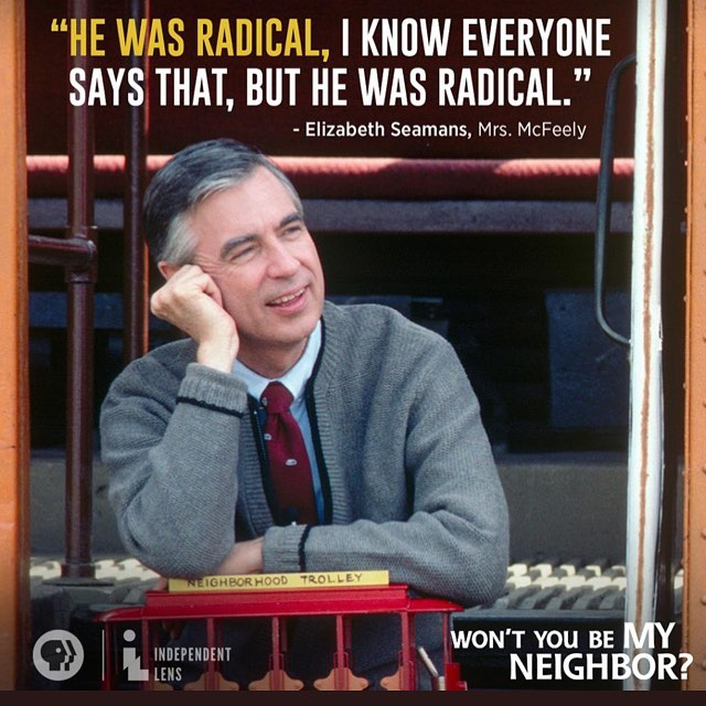 Just saw this documentary on Fred Rogers and cried. Made me think a lot about teaching and parenting. #fredrogers  #misterrogers #misterrogersneighborhood #iloveyoujustthewayyouare #wontyoubemyneighbor
