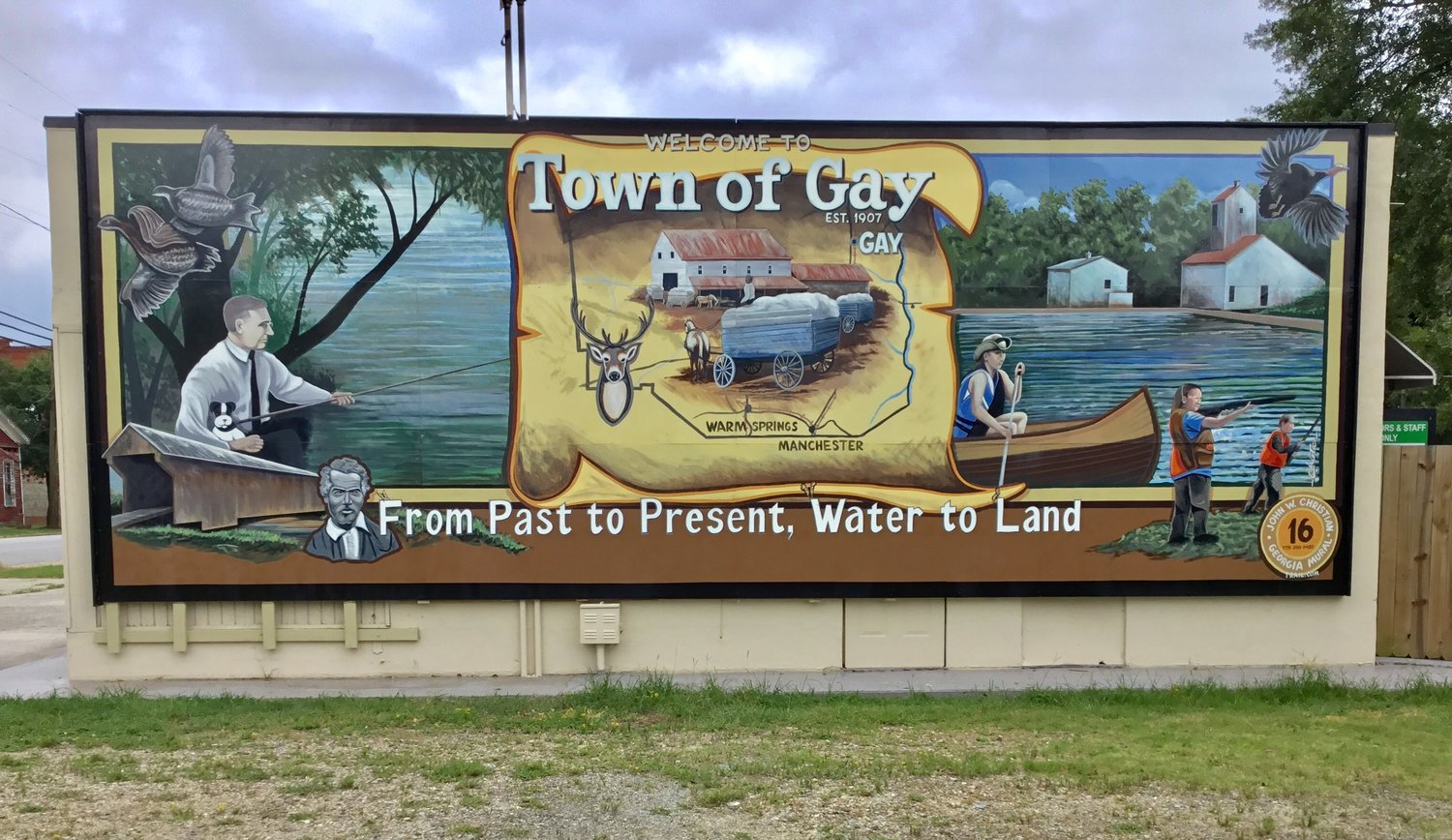 Town Of Gay Georgia Mural Trail
