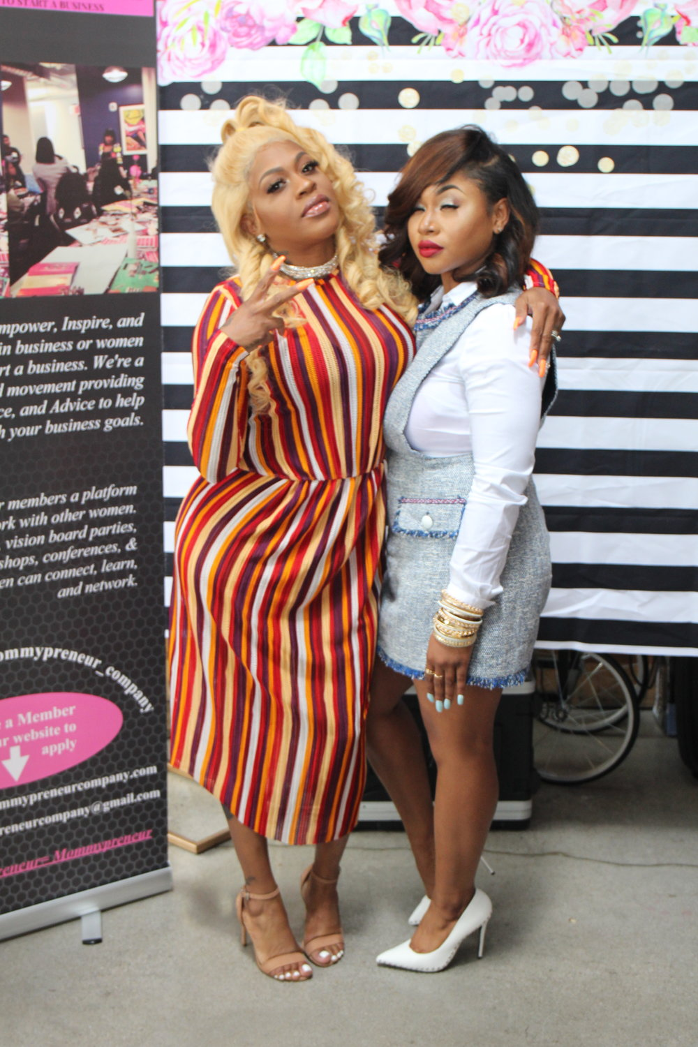 Celebrity Guest (Lil Mo) & Owner OF The Mommypreneur Company (Sieria)