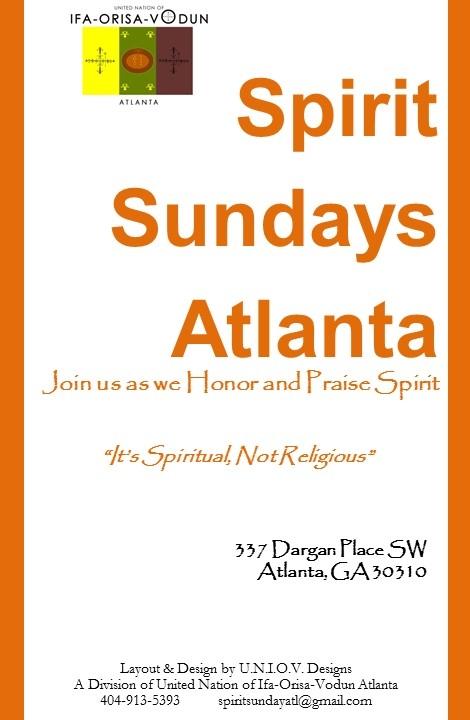 Spirit Sundays Atlanta