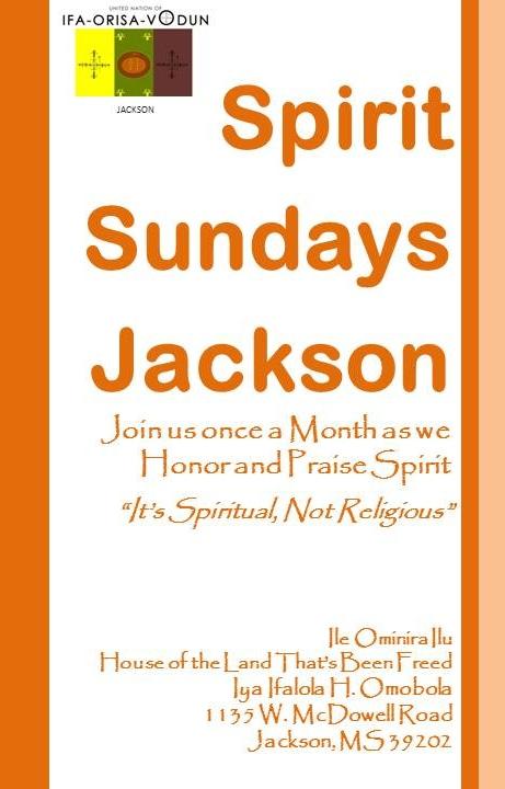 Spirit Sundays Jackson
