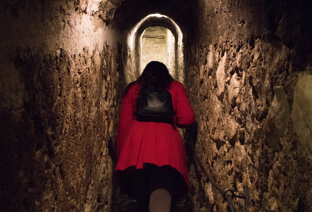 Stepenište tajnog prolaza