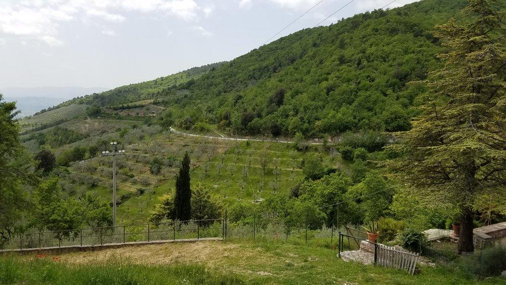 Casale I Perugini - Monte Subasio - Assisi