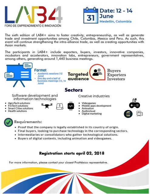 June 13-14th, 2018  Plaza Mayor, Medellín, Colombia.    Register here.