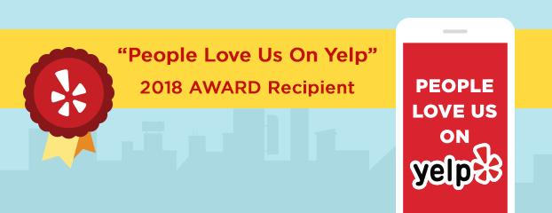 yelp 2018 award graphics
