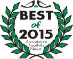 Best of Ahwatukee Foothills 2015 Award