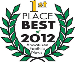 1st Place Best of 2012 Ahwatukee Foothills News