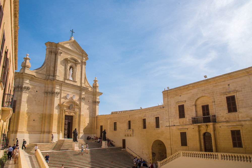 The Citadel on Gozo Island