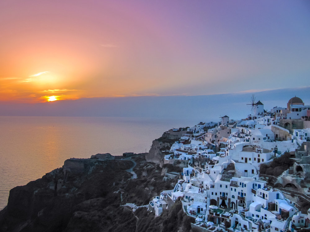 10 Photos to Prove You Should Never Miss a Greek Sunset