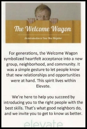 Project: Create messaging for a global recruiting firm's Welcome Wagon promo.