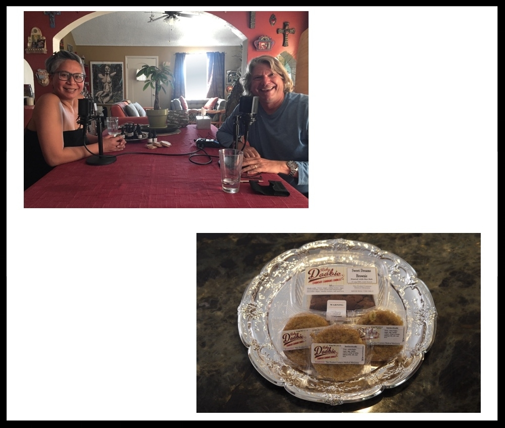 Episode 2 - Home BakedMy guest today is Angel Teger who is the founder of Ruby Doobie-Exquisite Cannabis Edibles. Angel is also an active cannabis activist, and her journey as a cannabis entrepreneur began when she sought relief from debilitating migraine pain. I spoke with Angel in her Los Angeles home while brownies were baking in the oven.Visit Apple Podcasts Preview to listen, or find us in iTunes and subscribe. Or, you may download it here.To learn more, visit Ruby Doobie online.