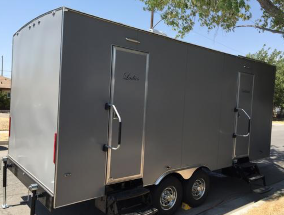 Portable VIP Restrooms for Guests