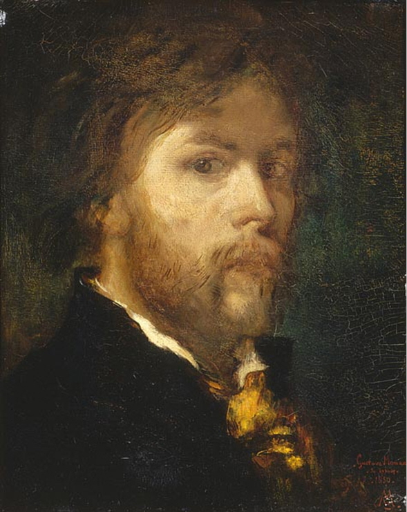 Gustave Moreau 1826 - 1898    Gustave Moreau  was known for his sensual paintings of mythological and religious subjects. Moreau was influenced by his master, Theodore Chasseriau, who painted numerous pieces depicting sea goddesses.
