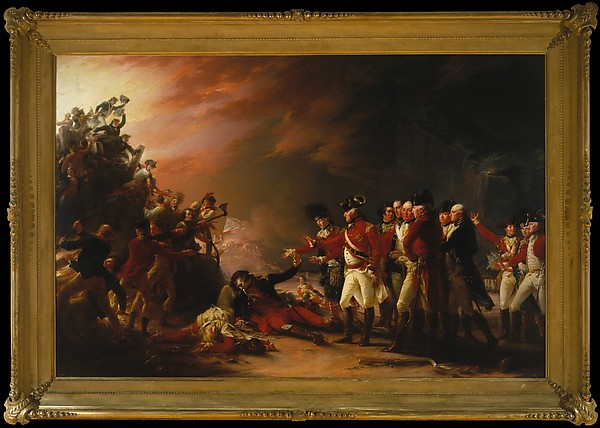 The Sortie Made by the Garrison of Gibraltar by John Trumbull   Confusion as to what to do next. The battle seems so disorienting.
