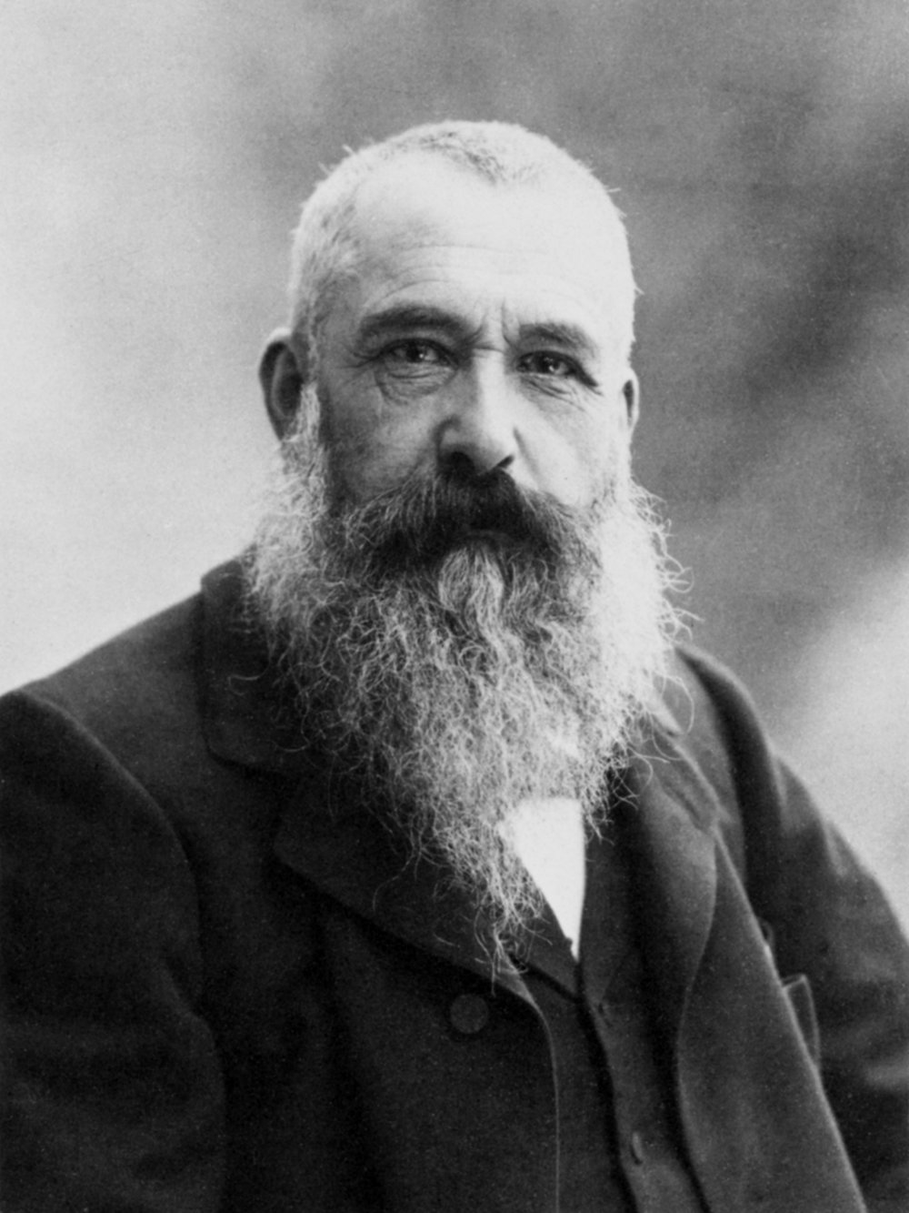 Claude Monet (1840 - 1936)    Claude Monet  was a French painter who initiated and advocated for the Impressionist style. Monet would stick with the same motif in a series of paintings. As the light on the subject matter changed so would his canvas.   Monet's first success as an artist happened when he was 15-years-old. He sold numerous caricatures which were carefully observed and well drawn. In addition, he sketched sailing ships in great detail. Monet's aunt, Marie-Jeanne Lecadre, was an amateur painter who suggested to Monet that he should study with a local artist. However, his life as a painter didn't begin until he was befriended by Eugene Boudin, who introduced Monet to painting outside.      Before artists went outside to paint the surrounding landscape, it was done so in a studio and from memory. Monet went outside to paint the landscape around him.