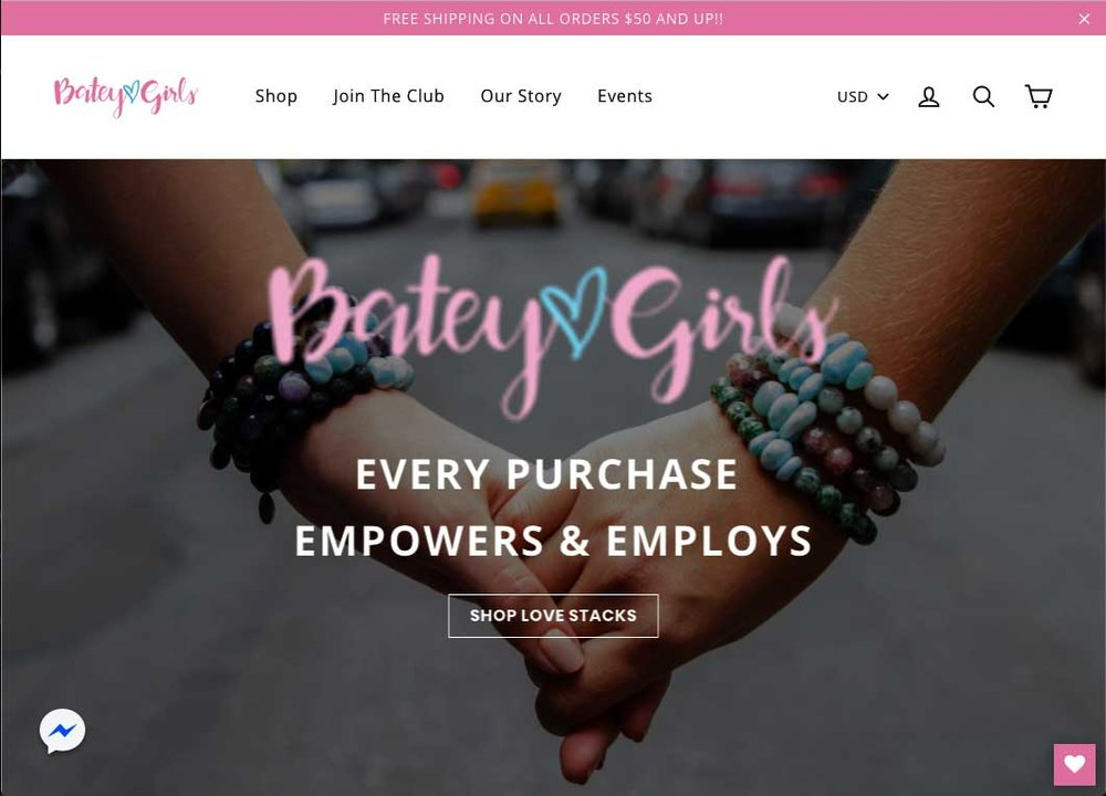 BATEY GIRLS  was established by the nonprofit organization; Batey Rehab Project, to provide economic opportunities for women and girls at risk of sex trafficking and domestic violence in the Dominican Republic....  READ MORE