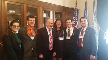 Dental Student Lobbyists with Representative Mark Pocan (D-WI)