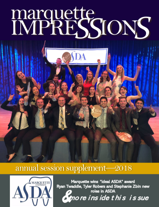 Annual Session 2018 - MU ASDA wins Gold Crown!