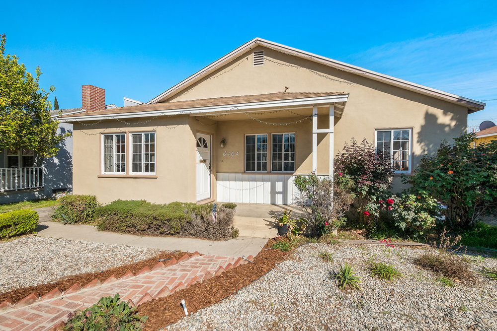 6464 Densmore Avenue, Van Nuys, CA 91406  - SOLD LISTINGSINGLE FAMILY HOME