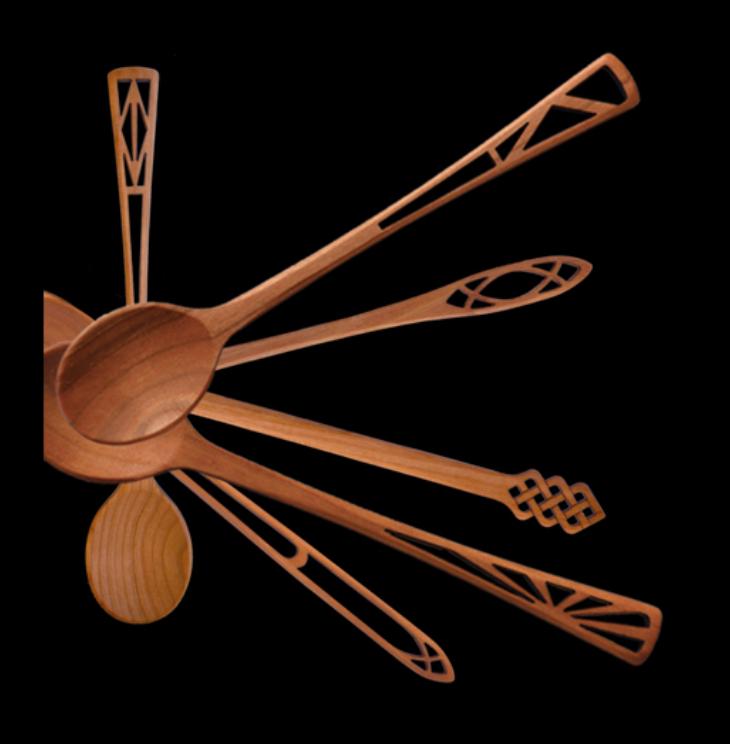 MoonSpoon cherry utensils