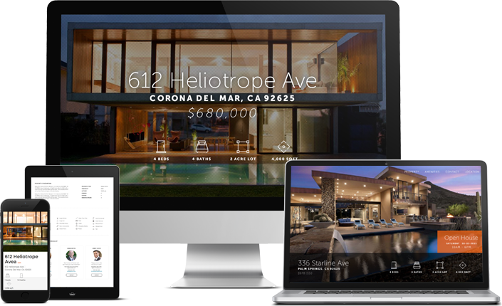 Single Property Websites - All of our services come with the free option of a Single Property Website.You can include Photos, Videos, Floor Plans, Community Photos, Aerial Views, Matterport 3D Tours, Street Map & Nearby Places, plus they are branded with your contact information, Head shot & can be shared in email & on Social Media. Website Analytics are included also.See our example page here - Property Website Example(Head shot & Company Logo need to be uploaded into Profile. Nearby Places, Map and Home Description are on all sites. Any Photos, videos, 3D tour & aerials must be purchased services added onto site.)