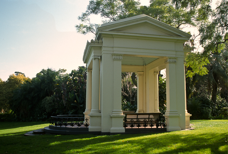 The Old Bandstand, Fitzroy Gardens Melbourne. Photo by Tony Bridge Photography