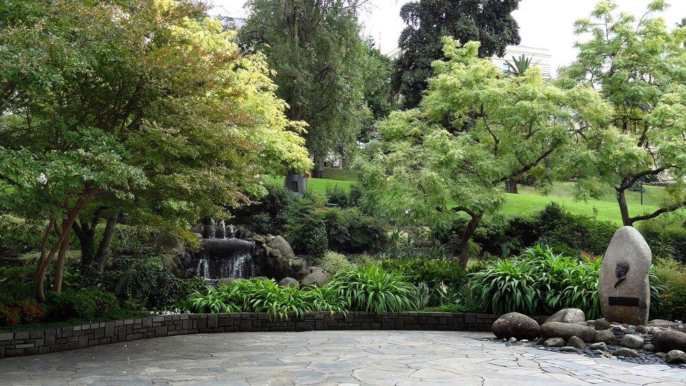 JFK Memorial, Treasury Gardens Melbourne