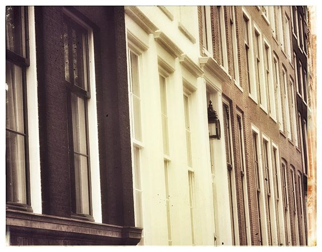 Exploring the lovely winding streets of #Amsterdam with my #wife, @sarah_roulston