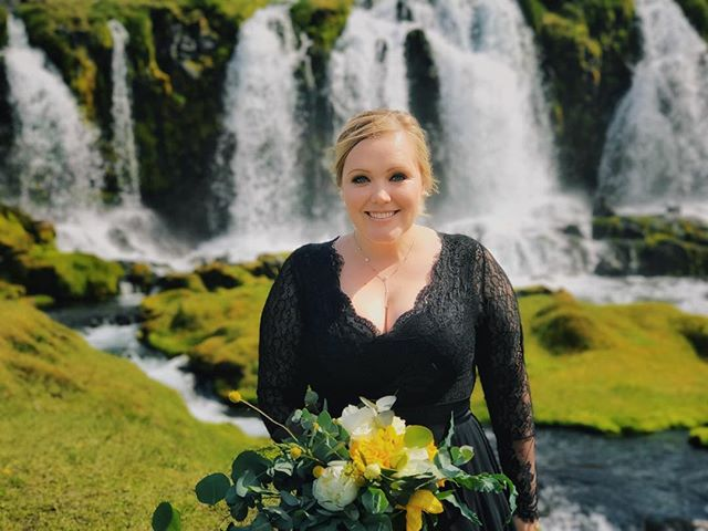 Yesterday, July 17th, 2017, at 9 AM Icelandic time, I married the love of my life on Katla, Iceland's largest subglacial volcano which lies buried underneath the massive Mýrdalsjökull glacier. I can't even begin to tell you how proud and endlessly happy I am to be able to call this amazing woman my wife. I love you, @sarah_roulston, and I am so excited for our life of adventure together!!