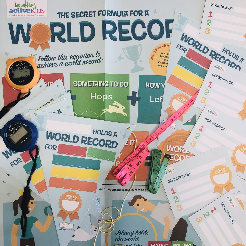 School Kit — DIY World Records Classroom Kit