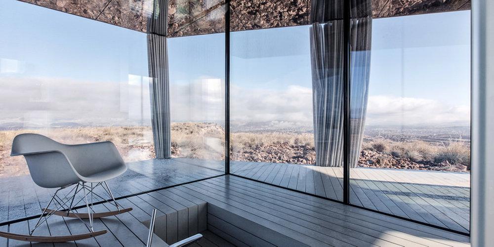 Glass House | OFIS Architects | Gorafe Desert | Spain