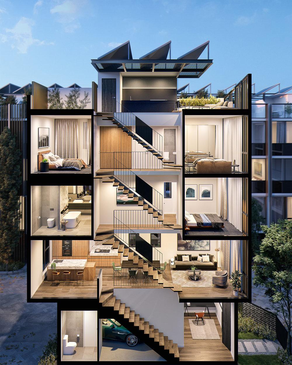 Habitus - 10-16 Boundary Street, South Melbourne, Victoria, Aust