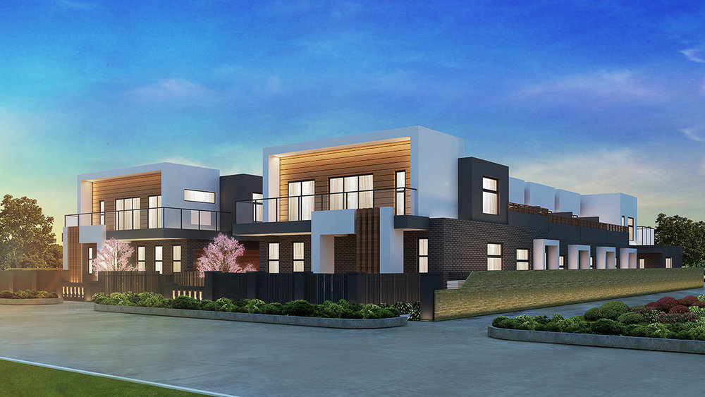 Copy of Wantirna Townhouses - 561 Boronia Road, Wantirna, Victoria, Aust