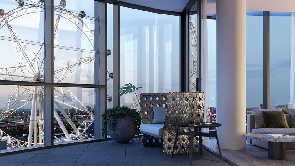 The Docklands Residences - 3-43 Waterfront Way, Docklands, Victo